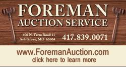 Auctioneer Springfield MO